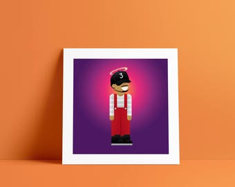 Wear Your Halo Like a Hat - PopCulture.gif Print