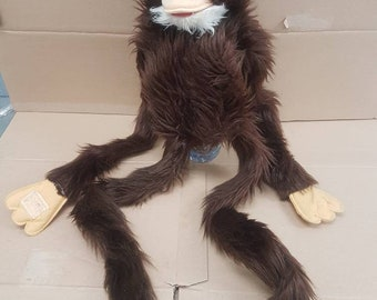 Vintage Monkey Chimp hand puppet made in Korea