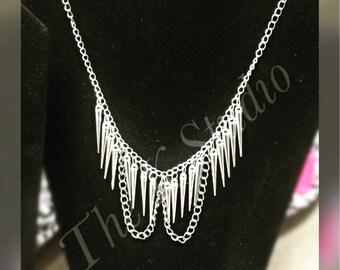 Spike Rock Necklace