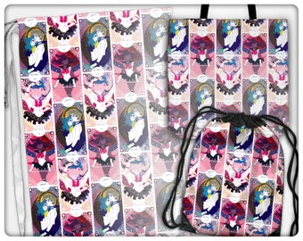 Sailor Senshi Tarot Bags (tote, cinch, sling, laundry)