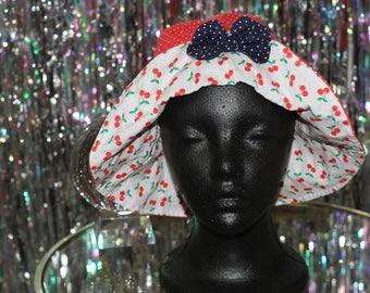 90's Red & White Bucket Hat