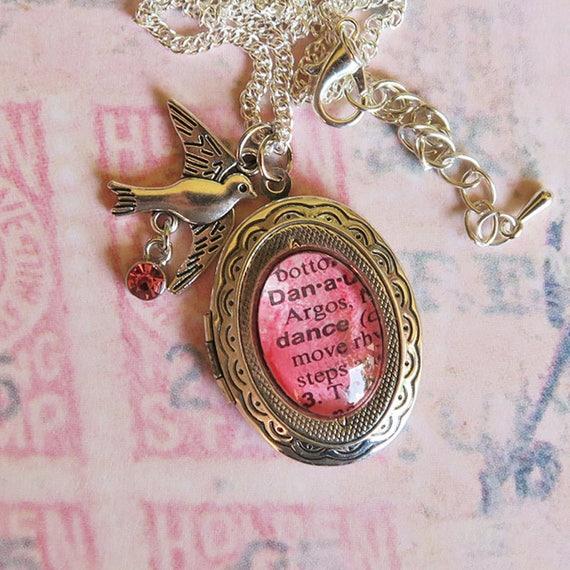 Items Similar To Pink Word Locket, Dance Locket. 14mm Bracelet. Golden Lion Bracelet. Expensive Bracelet. Iconic Bracelet. Wristlet Bracelet. Breast Cancer Bracelet. Pagan Bracelet. Christening Present Bracelet