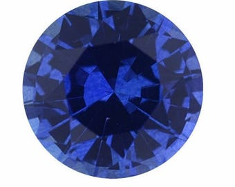 One carat loose simulated sapphire | test only