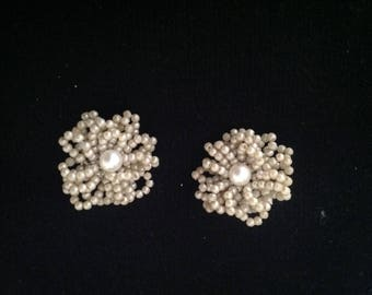 1950s Vintage Ladies Earrings