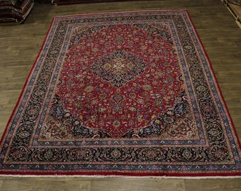 Amazing Rare Color Plush Kashmar Persian Wool Rug Oriental Area Carpet 10X13