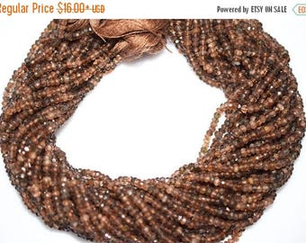 50% OFF Natural Good Quality Andusalite Rondelle Beads 13 Inch Strand ,Andusalite Faceted Rondelle Beads , 3.5 mm - MC014