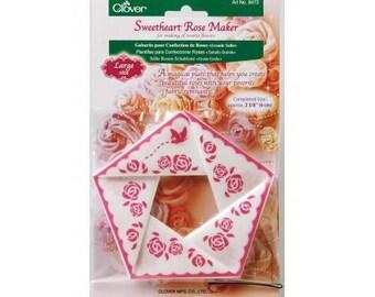 Gabarits CLOVER pour confection de roses - grand modèle