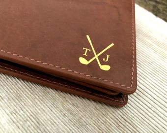 Father's Day Gift Golf • Mens golf • golf gifts • golf gifts for men • golf personalized • golf for him • golf wallet • Toffee 7751*