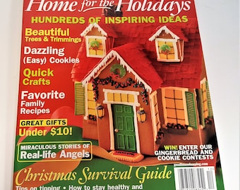 Gingerbread House Contest Winners in Good Housekeeping Cookie Recipes Dazzling Decorations Inspiring Stories 8 Issues Free Shipping