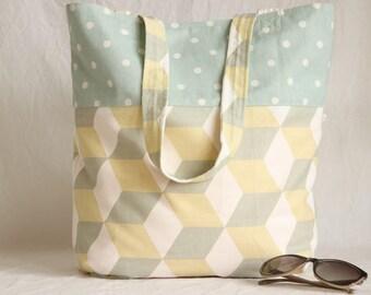 Beach bag / shopper, pastel