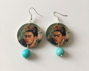 Pending Frida Kahlo, Frida earrings
