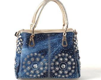 Crystal Diamond Women Messenger Bags/Luxury Handbags