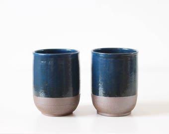 Cup  //  blue  //  ceramic  // stoneware