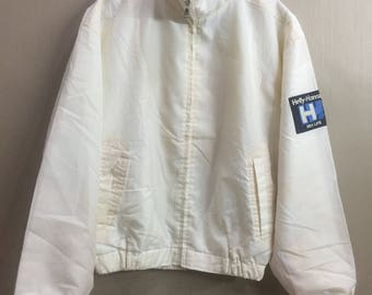 Vintage Helly Hansen Sea Life Windbraker Zipper Nylon Jacket