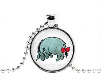 Eeyore Pendant Eeyore Necklace Classic Winnie the Pooh Jewelry