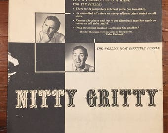 Nitty Gritty Vintage Puzzle/Game
