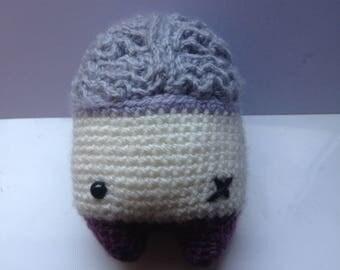 Zombie crochet plushie  •  Lalylala pattern