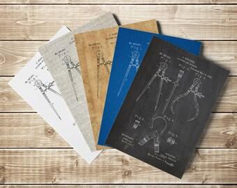 Divider Poster, Caliper, Medicine Poster, Calipers Dividers, Pharmacy Printable, Medicine Printable, Mechanical Engineer, INSTANT DOWNLOAD