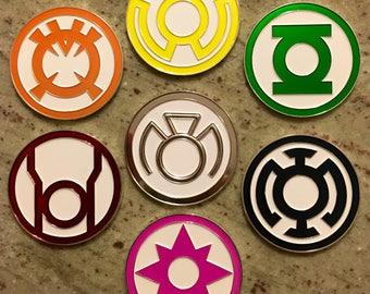 Lantern Corps Challenge Coins - Green Lantern