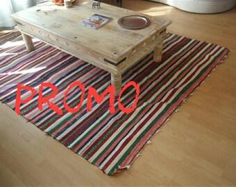 PROMO Moroccan boucherouite rug