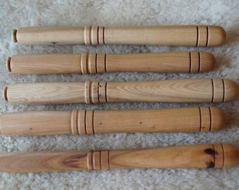 Nostepinne Light Wood hand turned