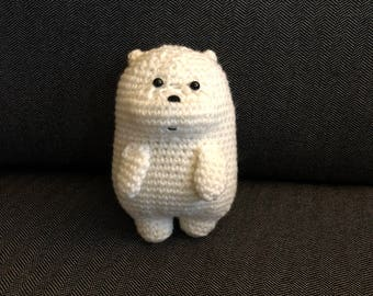 We Bare Bears Inspired Baby Ice Bear