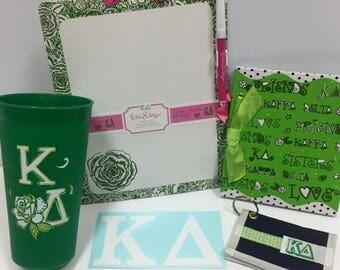 Kappa Delta Sorority Package
