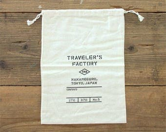 Travelers Factory TF storage bag No5 drawstrings pouch A4