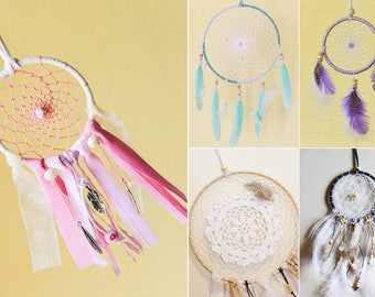 Dreamcatcher Handmade Customizable ** SIZE & COLORS ** 1 Circle 10 cm