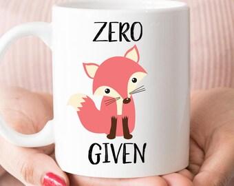 Zero Fox Given Mug (M901)