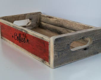 Vintage style wooden box