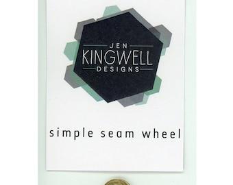 """Simple Seam Wheel 1/4"""" - JKD 5231 - Jen Kingwell Designs"""