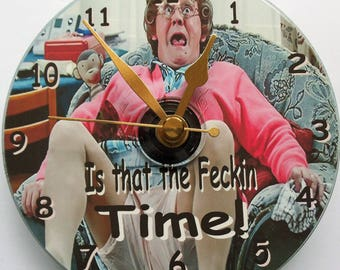Mrs Brown's boys CD clock
