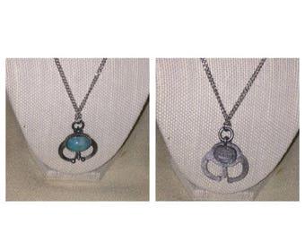 On Sale Vintage Pewter Necklace
