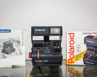 Polaroid One Step Red Line