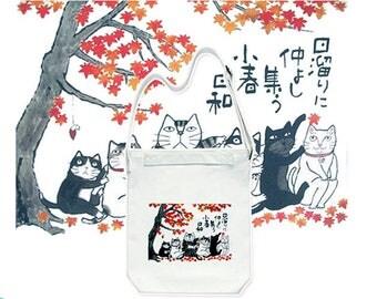 025 Cute Cat Bag,Canvas Tote Bag,Handbags  Crossbody Bags Printed Bag,Market Bag,Cotton Tote Bag,Large Canvas Tote,Cat Tote Bag,Animal Bag