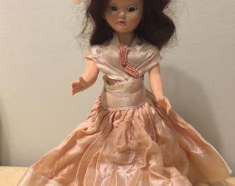 1930s Vintage Celluloid Plastic Doll