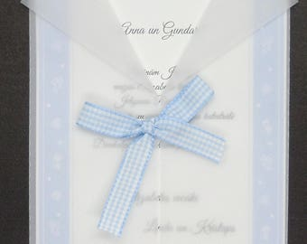 Christening invitation suite, Weddings, Birthday invitation, weddings, invitation set, boy and girl, baby invitation, Beautiful