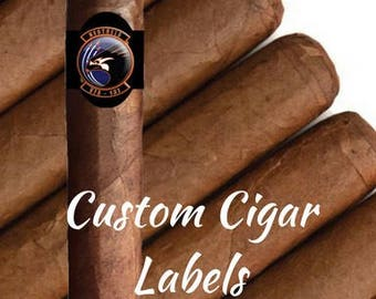Custom Cigar Labels- Military Homecoming- Promotion Gift- Bachelor Party- Military Gift