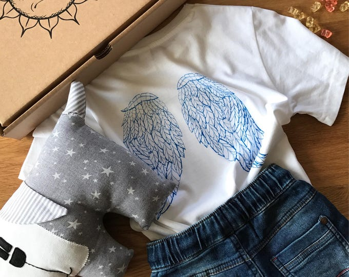 Angel's Wings - Organic Toddler T-shirt