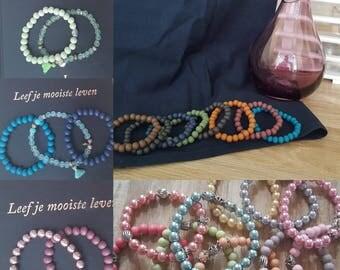 Wooden bracelets - handmade