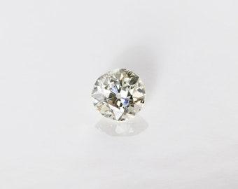 Antique Old Mine Cut Diamond, G SI1, 0.39 Ct