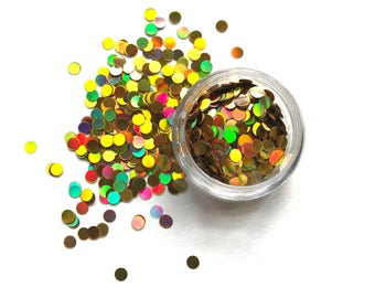 Golden Goddess Glitter Discs