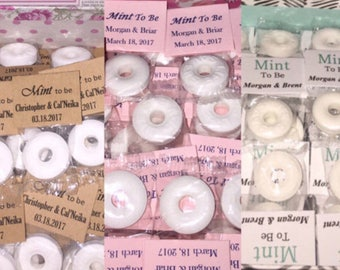 Bridal Shower Favors, Mint to Be Favors, Wedding Favors for Guests, Mint to Be Wedding Favors