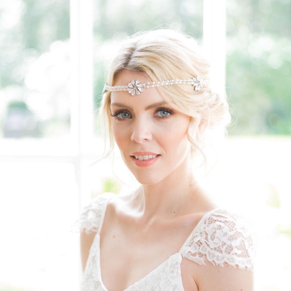 Vintage bridal headpiece, Art Deco headpiece, Gatsby headpiece ...