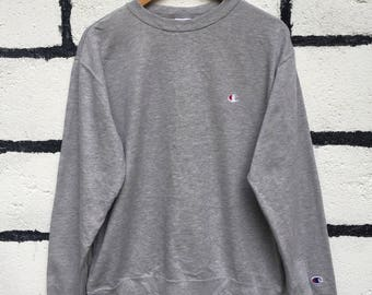 Champion Sweatshirt Small Logo Nice Design