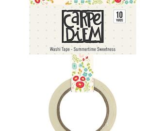 Carpe Diem Summertime Sweetness Washi Tape