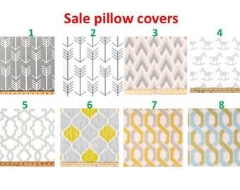 SALE  Pillow covers Pillow cases Pillows Decorative Pillows gray pillow Turquoise pillow 16X16, 14x16, 14x14, 12x16, 12x12, 10x10
