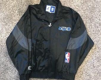 Retro Deadstock Orlando Magic Logo Athletic Jacket XL Vintage 90s RARE