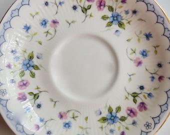 "Paragon Orphan Bone China Saucer ""Florabella"" Pattern Replacement Saucer Only No Teacup"